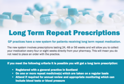 Long Term Repeat Prescriptions